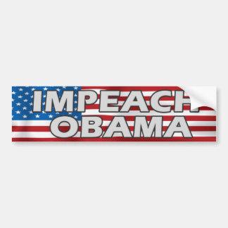 Attaquez l'adhésif pour pare-chocs d'Obama Autocollant Pour Voiture