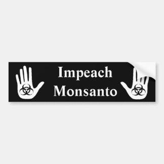 Attaquez Monsanto Autocollant Pour Voiture