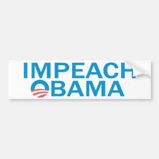Attaquez Obama Bumpersticker Autocollant Pour Voiture