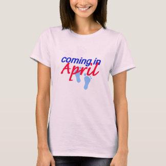 Attendre le T-shirt d'AVRIL