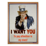 """""""Attention de salaire affiche dans classe"""""""