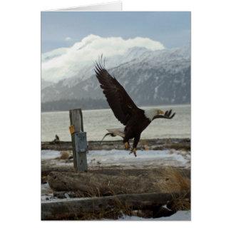 Atterrissage Eagle Carte De Vœux