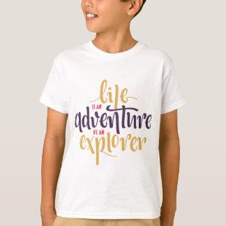 Attitude, crainte, confiance de motivation de t-shirt