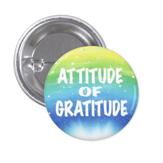Attitude de gratitude badge