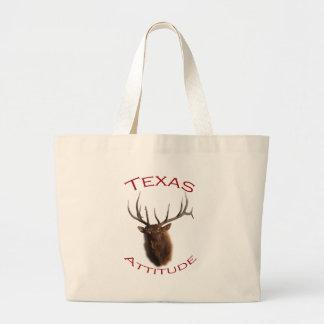 Attitude du Texas Sac En Toile