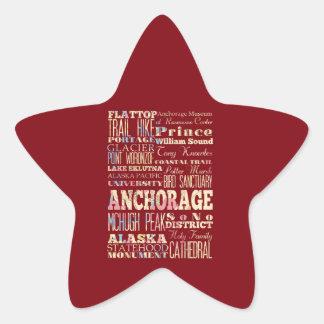 Attractions et endroits célèbres d'Anchorage, Sticker Étoile