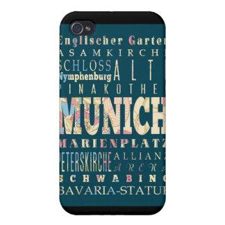 Attractions et endroits célèbres de Munich, Étuis iPhone 4