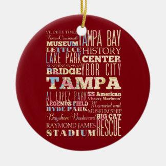 Attractions et endroits célèbres de Tampa, la Flor Décoration De Noël
