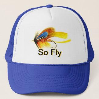 Attrait de pêche de mouche - ainsi mouche casquette