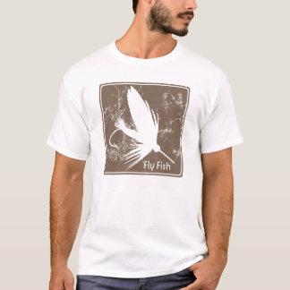 Attrait de pêche de mouche t-shirt