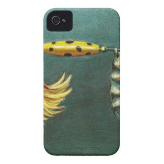 Attrait de pêche de plume coques iPhone 4