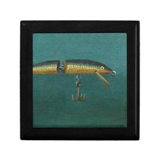 Attrait de poissons boîte à souvenirs