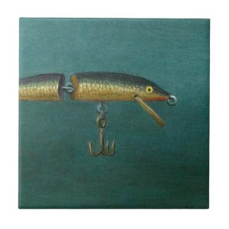 Attrait de poissons petit carreau carré