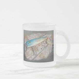 Attrait vintage d'eau de mer de Streamliner de Cap Mug À Café