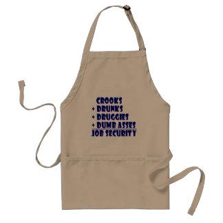ATTRAPE la sécurité de l'emploi Tablier