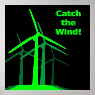 Attrapez le vent ! Affiche