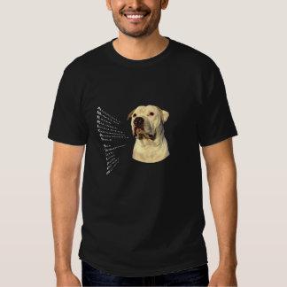 Attributs américains de bouledogue t-shirts