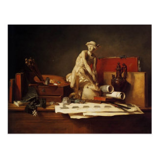 Attributs de Jean-Baptiste-Simeon Chardin-The Carte Postale