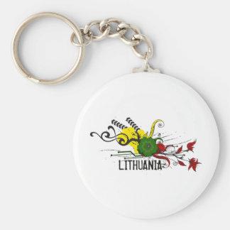 Attributs de Lithuanien Porte-clef
