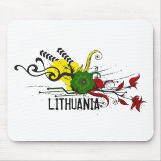 Attributs de Lithuanien Tapis De Souris