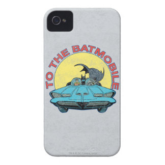Au Batmobile - icône affligée Coques iPhone 4