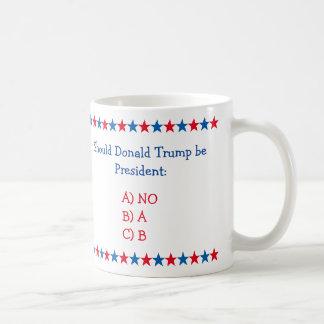 Au cas où Donald Trump serait le Président Funny Mug