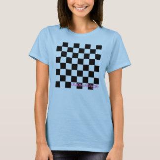 Au-dessous de le T-shirt 21 Checkered bleu