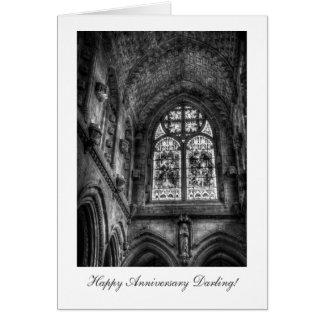Au-dessus de l'autel de chapelle - chouchou carte de vœux