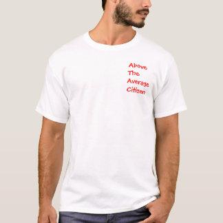 Au-dessus du T-shirt moyen de citoyen