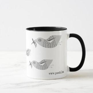 Au lieu d'une cigogne… mugs