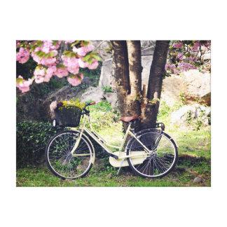 Au printemps jardin toiles