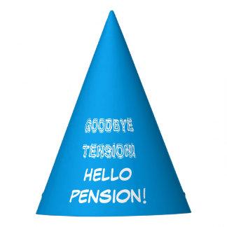 Au revoir chapeau de partie de retraite de pension