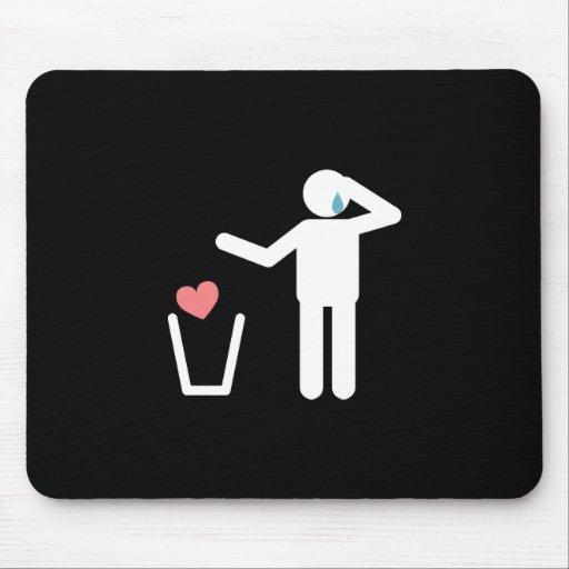 Au revoir mon amour mousepad tapis de souris zazzle for Surface minimum bureau code du travail