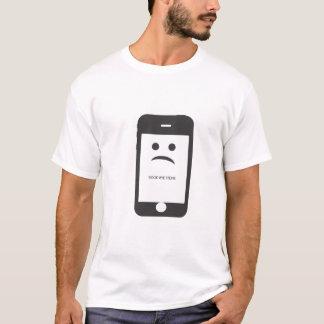 au revoir T-shirt de blanc de steve