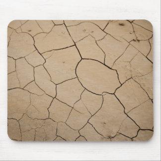 Au sol sec de désert tapis de souris