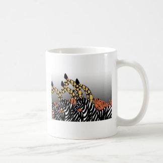 Au zoo mug blanc