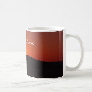 Aube du nouveau début mug