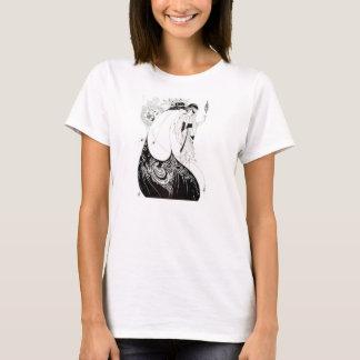 Aubrey Beardsley le T-shirt de jupe de paon