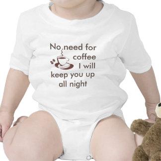 Aucun besoin de café… Plante grimpante de bébé Body