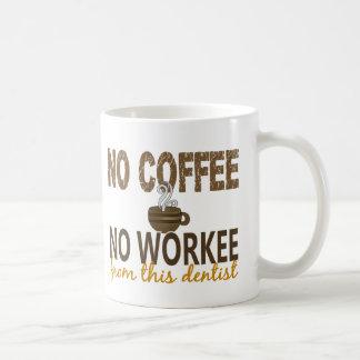 Aucun café aucun dentiste de Workee Mug