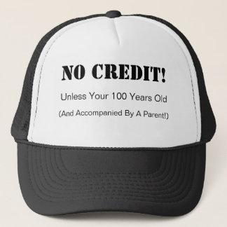 Aucun casquette de crédit