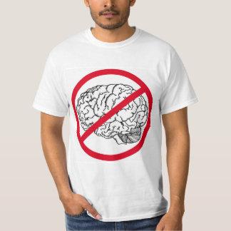 Aucun cerveau t-shirt