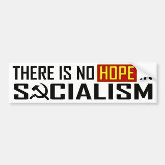 Aucun espoir dans le socialisme autocollant pour voiture