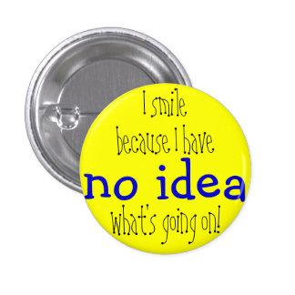 Aucun insigne d'idée pin's avec agrafe