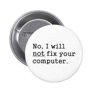 Aucun je aucune difficulté votre cadeau nerd de te badge rond 5 cm