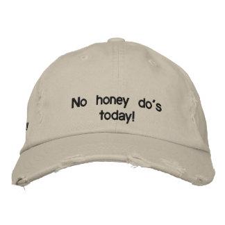 Aucun miel n'ont fait aujourd'hui ! casquette brodée