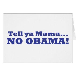 Aucun Obama ! Carte