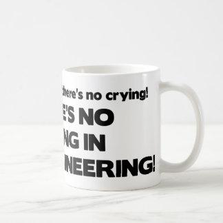 Aucun pleurer dans le génie civil mug