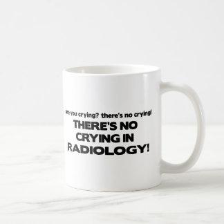 Aucun pleurer en radiologie mug