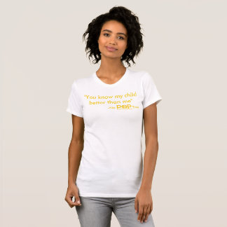Aucun POP jamais T-shirt